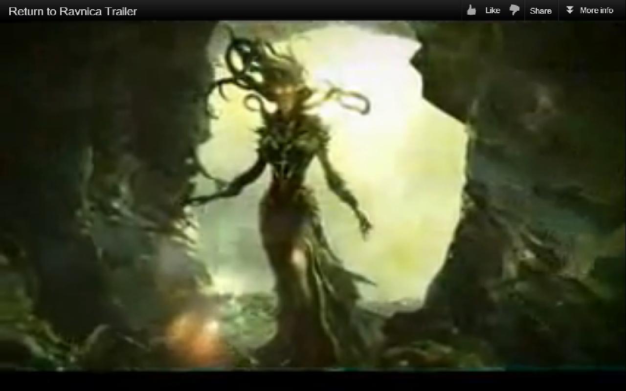 Vraska The Unseen Rtr]] vraska the unseen in the trailer - the rumor ...