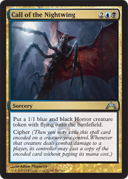 Call of the Nightwing - New Card Discussion - The Rumor ... Planeswalker Deck Kaladesh