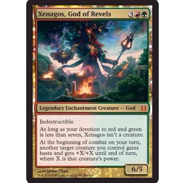 Xenagos, God Of Revels [[BNG]] Xenagos...
