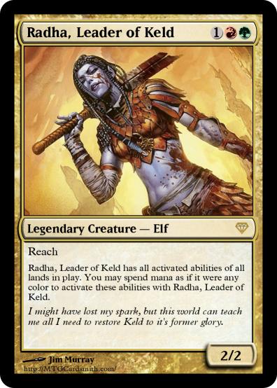Radha Mtg Legendary Creatures ma...