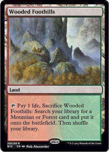 [[M15]] Polluted Delta/Wooded Foothills? - New Card ...