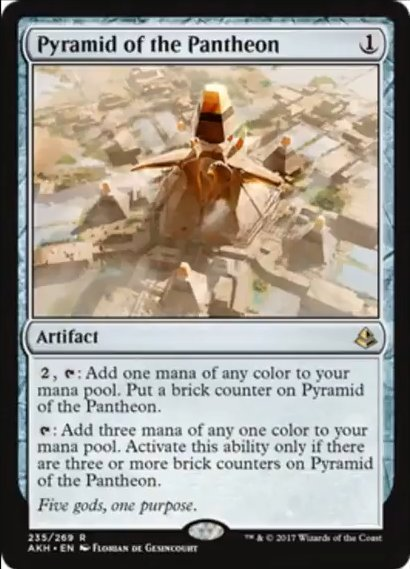 Quarry Hauler and Pyramid of the Pantheon - The Rumor Mill - Magic ...