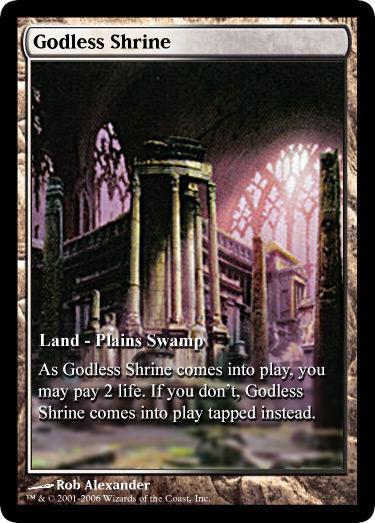 Godless Shrine Gatecrash Art Virot's House of Full-...