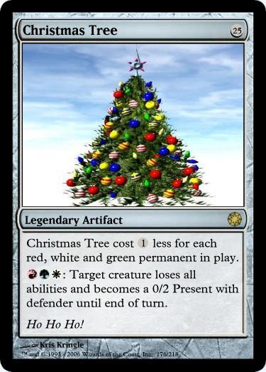Christmas Cards (No Pun Intended) - Custom Card Creation - Magic ...