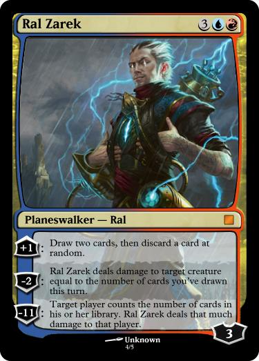 Ral Zarek, The Firemind - Custom Card Creation ...
