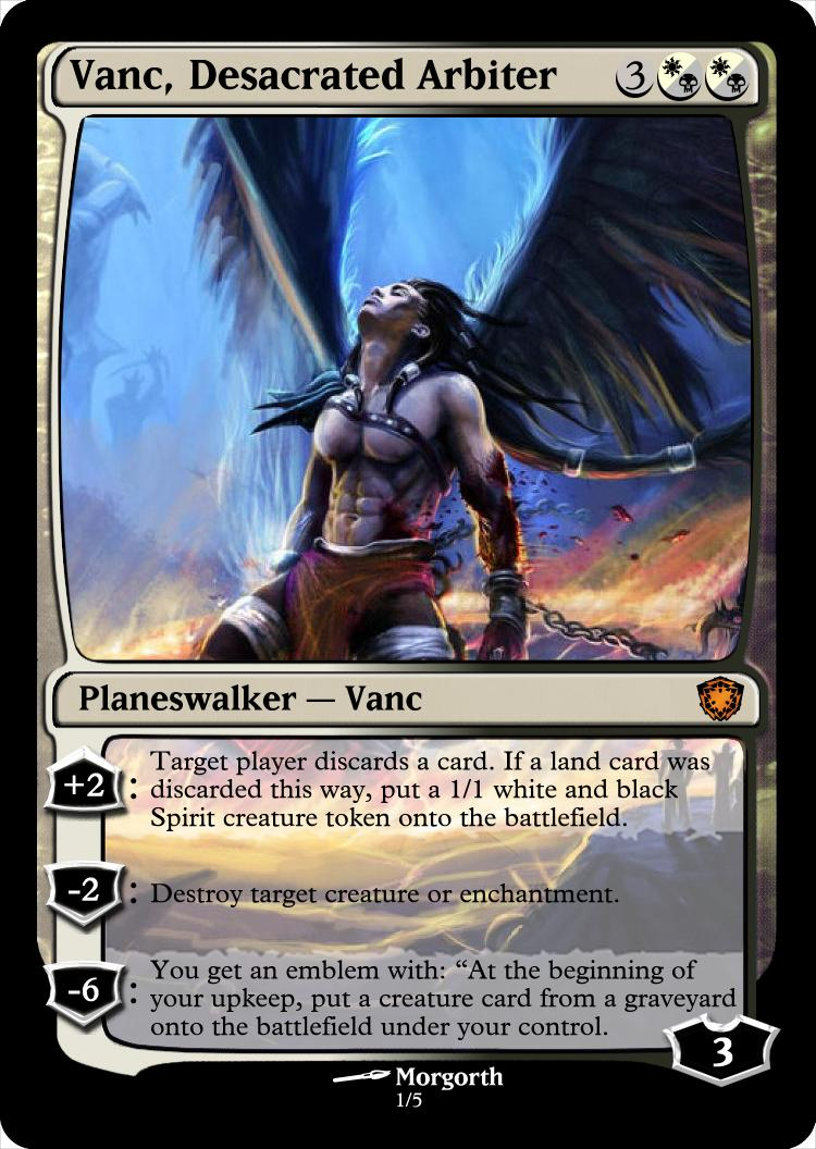 New Cool Planeswalkers (all 5 posted) (please comment ... Planeswalker