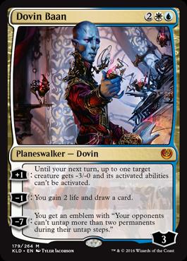 Dovin Baan - Planeswalker - Cards - MTG Salvation Planeswalker Activated Ability