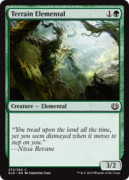 Terrain Elemental - Creature - Cards - MTG Salvation