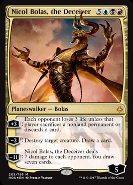 Nicol Bolas, the Deceiver - Planeswalker - Cards - MTG Salvation