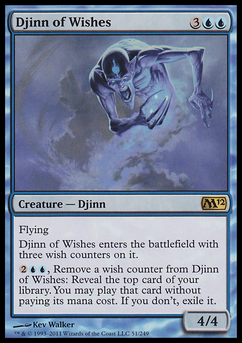 Djinn of Wishes - Creature Djinn Of Wishes