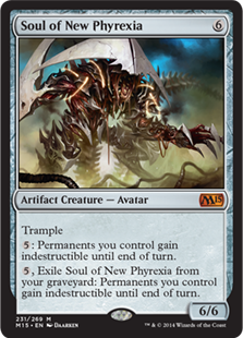 Soul of new phyrexia artifact cards mtg salvation