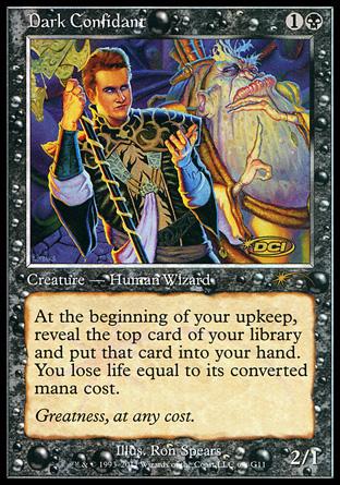 Dark Confidant - Creature - Cards - MTG Salvation Dark Confidant Modern Masters