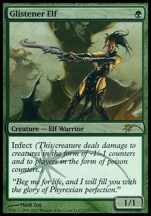 Glistener Elf Creature Cards Mtg Salvation