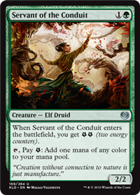 Servant of the Conduit (Kaladesh)