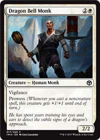 Dragon Bell Monk (Iconic Master)