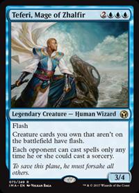 Teferi, Mage of Zhalfir (Iconic Master)