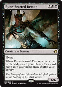 Rune-Scarred Demon (Iconic Master)