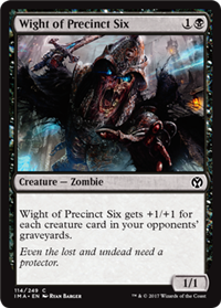 Wight of Precinct Six (Iconic Master)