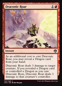 Draconic Roar (Iconic Master)