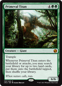 Primeval Titan (Iconic Master)