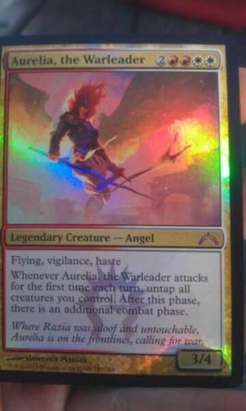 [[SCD]] [GTC] Aurelia, the Warleader - Cube Card and ...