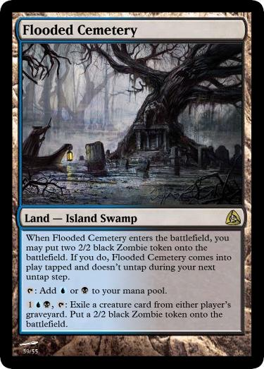 play lands from graveyard mtg
