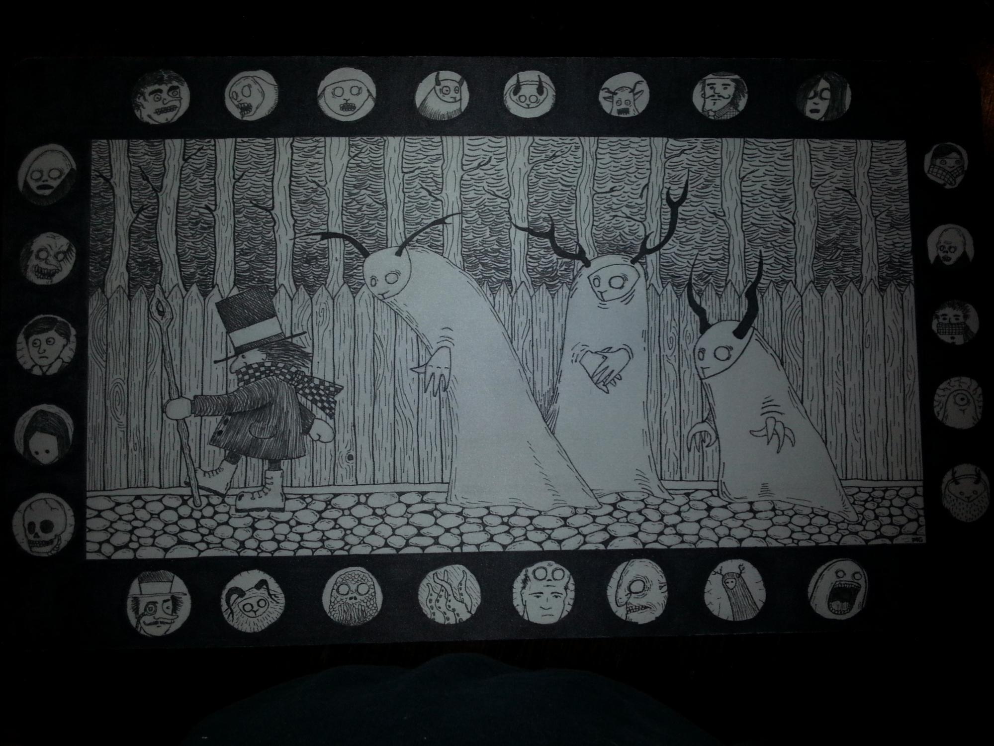 Show Us The Best Edh Playmat Art You Ve Ever Seen