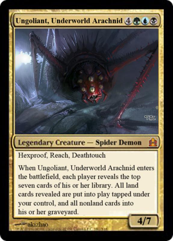 N Spiders Ungoliant, Underworld ...