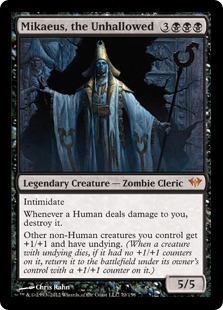 Mcd Mikaeus The Unhallowed Combo Pakages Cube Card