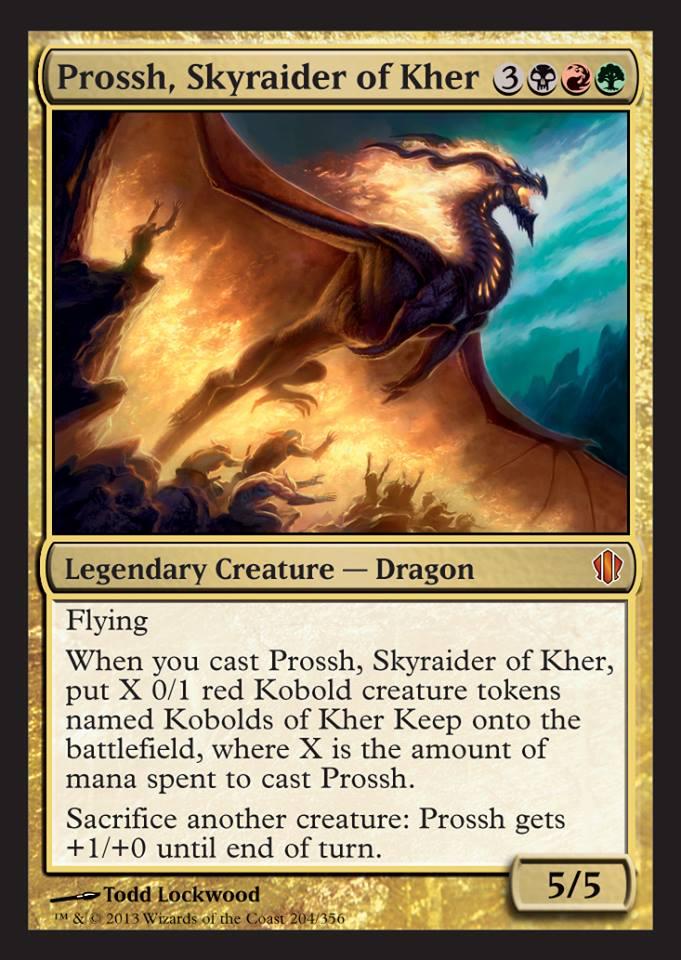 Competitive]] Prossh, Skyraider of Kher - Kobold Master