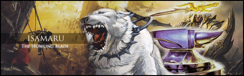 Primer]] Isamaru, the Howling Blade (My Dog Wields Swords  Yours