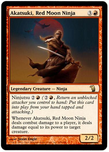 more ninjas not just blue  custom card creation  magic