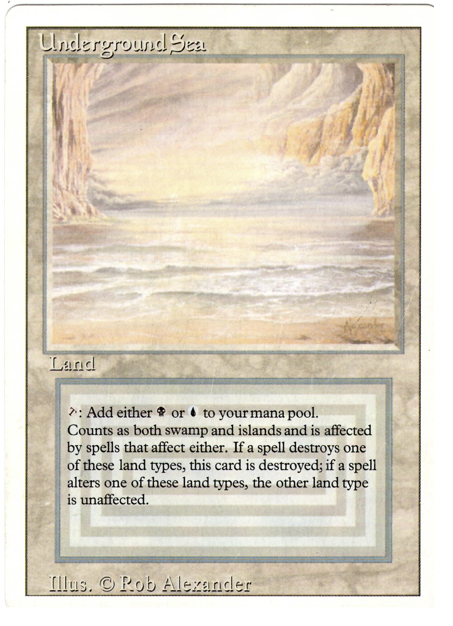 Fake Underground Sea from Ebay - Card Authentication ...