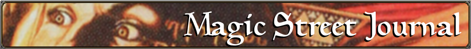 Magic Street Journal Banner