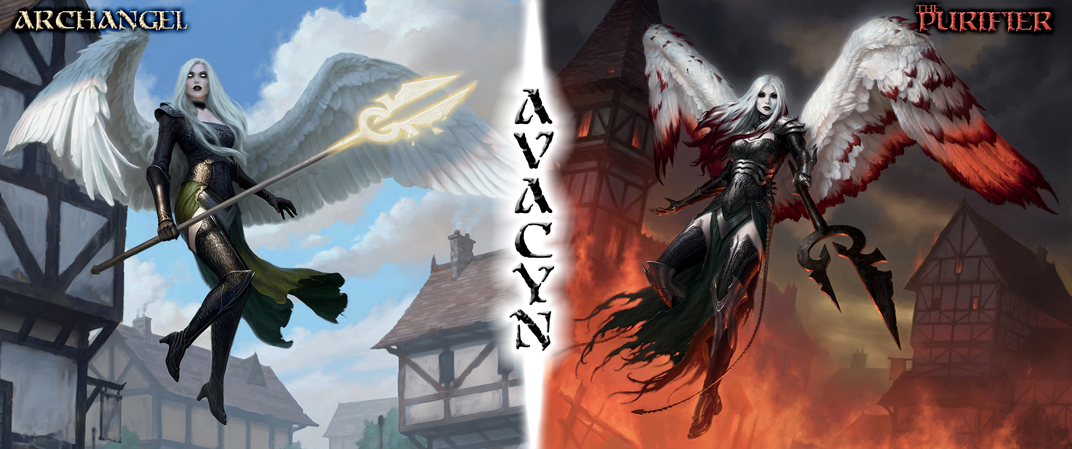 Image result for archangel avacyn art