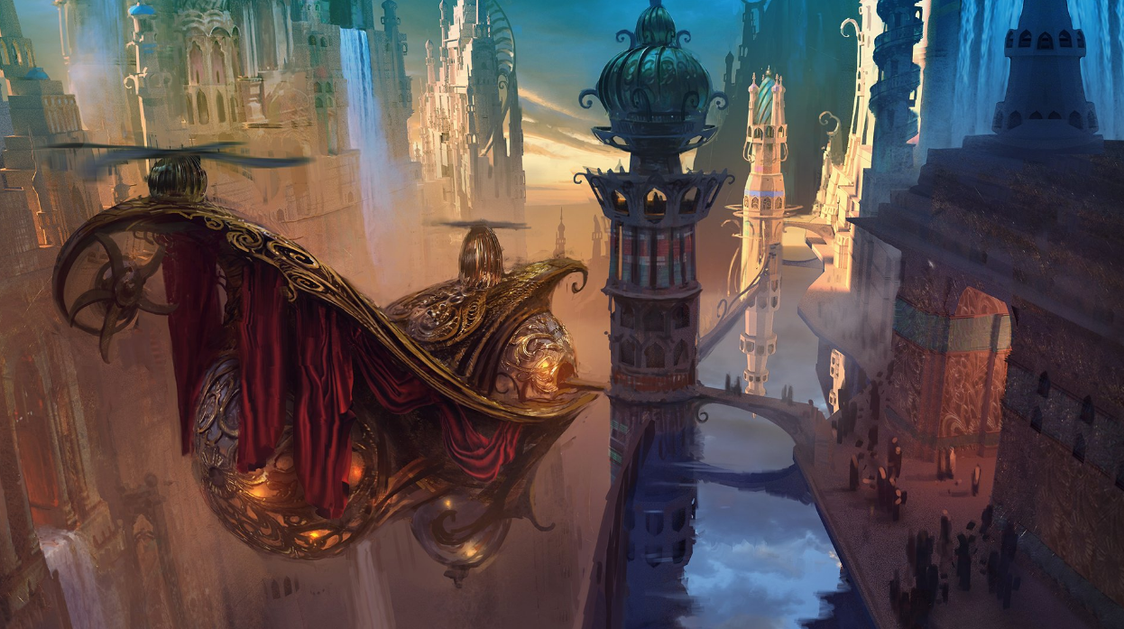 More scenery artwork of kaladesh the rumor mill magic fundamentals mtg salvation forums - Magic land wallpaper ...