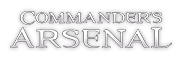 Commander's Arsenal Logo