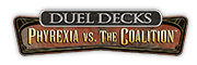 Duel Decks: Phyrexia vs. the Coalition Logo