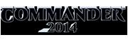 Commander 2014 Logo