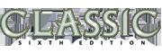 Classic Sixth Edition Logo