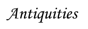 Antiquities Logo