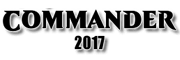 Commander 2017 Logo