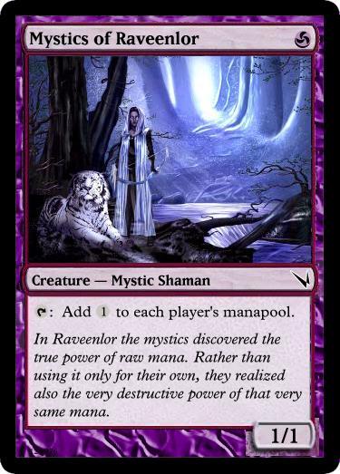 purple   card creation theory