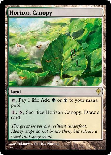 [ZEN] Horizon Canopy?  sc 1 st  MTG Salvation & ZEN] Horizon Canopy? - Speculation - The Rumor Mill - Magic ...
