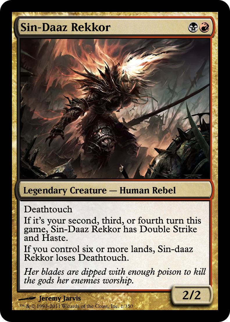 Custom Commander/EDH General Thread - Custom Card Creation ...