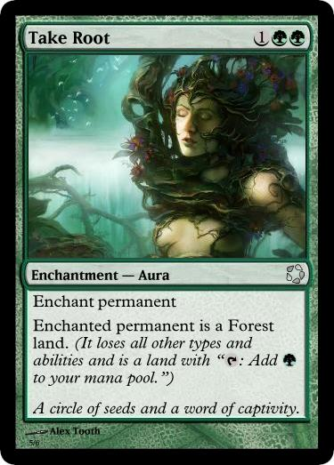Ymtc 18 Salvation Card Take Root Card Of The Month Custom