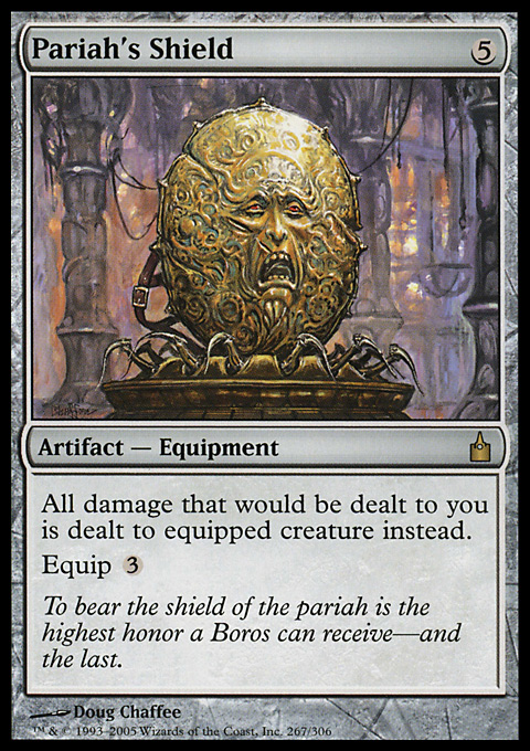 Pariah S Shield Artifact Cards Mtg Salvation