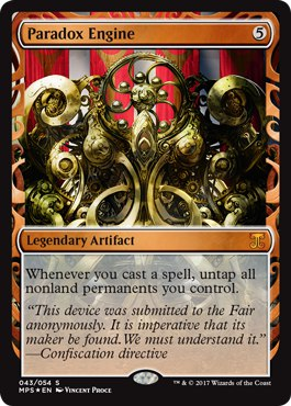 AED] Paradox Engine - Cube Card and Archetype Discussion