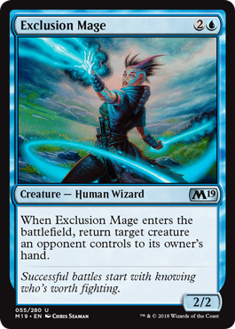 Image result for mtg Exclusion Mage
