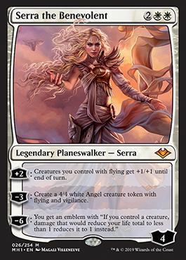 Serra The Benevolent Planeswalker Cards Mtg Salvation